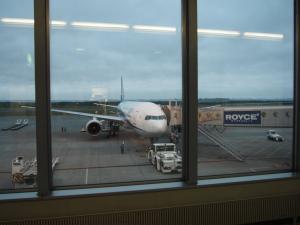 で、帰りはまた新千歳空港から…