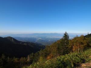 大河原峠から…中央右は浅間山…かな?