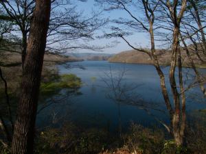 ホビット庄(?)の近くの湖…